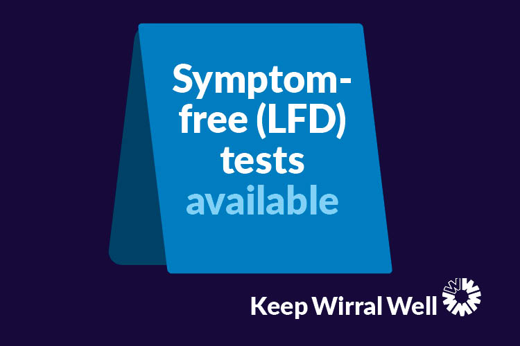 Symptom-free testing to move indoors for winter - view the schedule