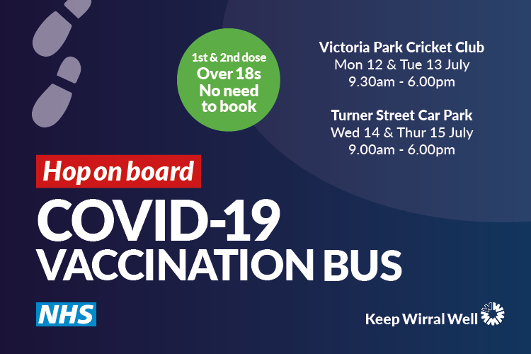 COVID-19 Vaccination Bus locations