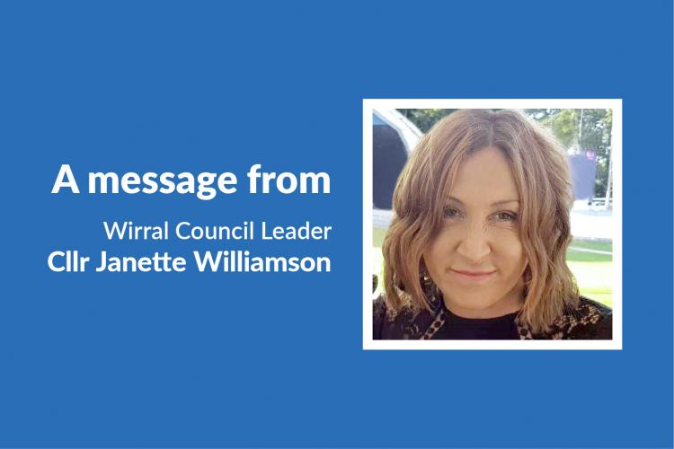 Wirral Council leader, councillor Janette Williamson