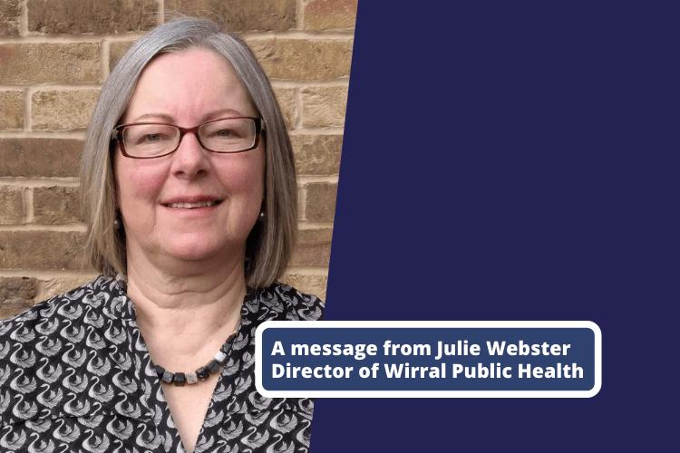 Julie Webster, Wirral's Director of Public Health