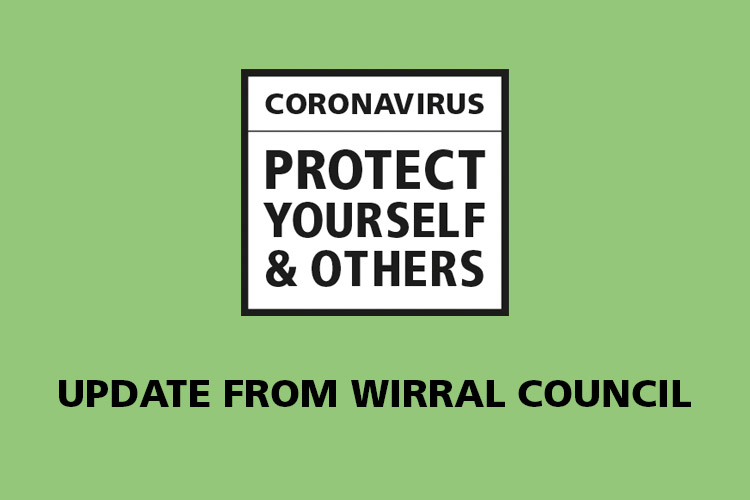 Protect yourself and others from coronavirus. Updates from Wirral Council.