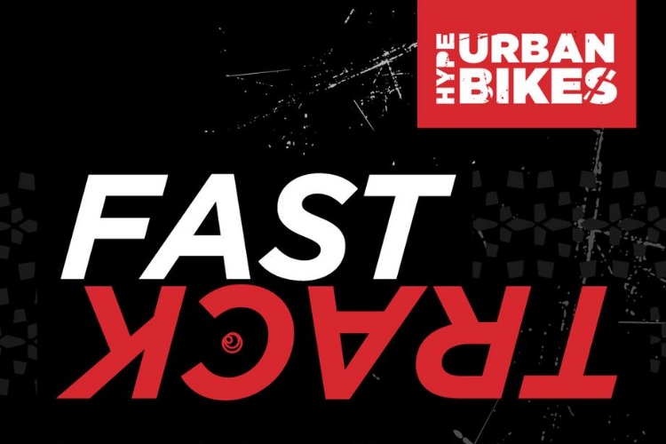 Fast Track with Urban Bikes Logo