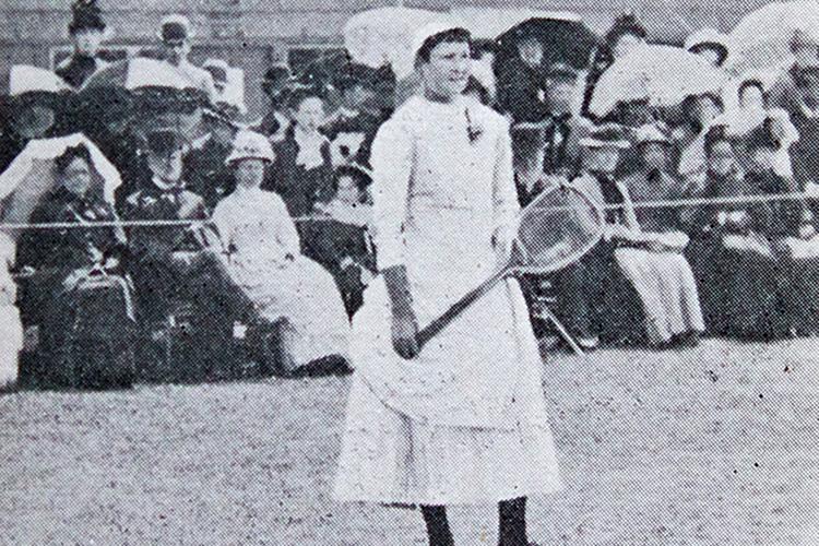 Lottie Dod, five-time Wimbledon Champion