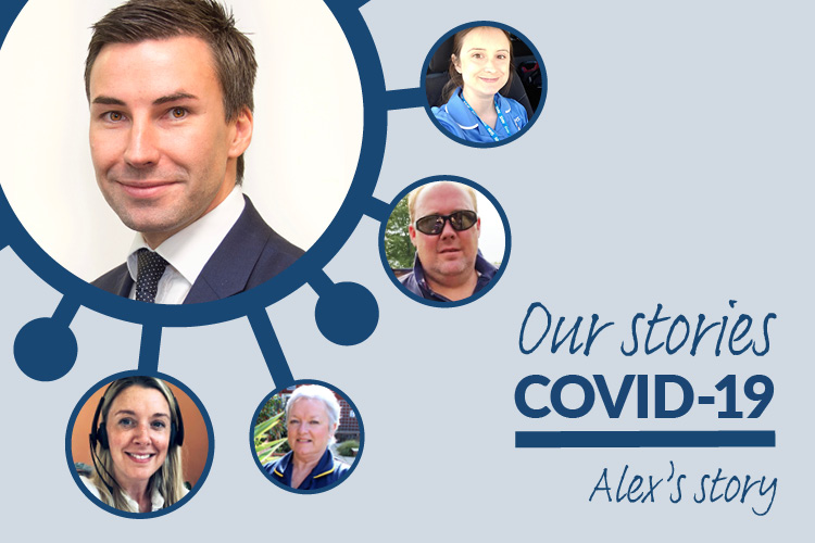 Covid stories graphic image