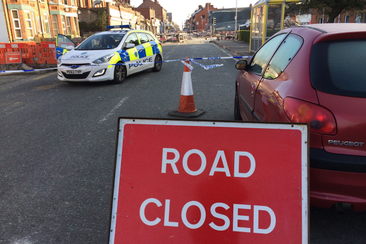 Bebington Road, New Ferry road closure