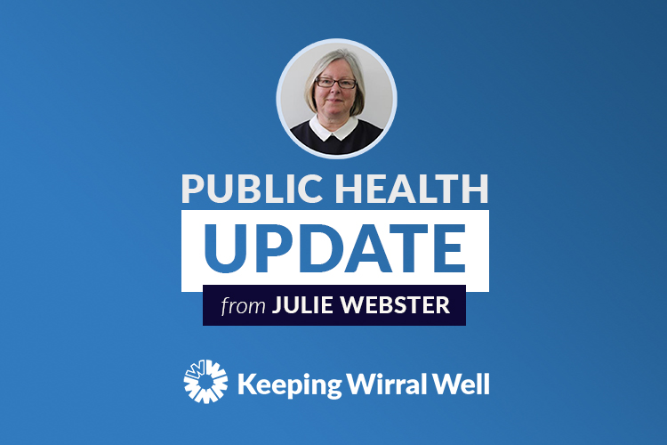 A picture of Julie Webster, Wirral's Director of Public Health.