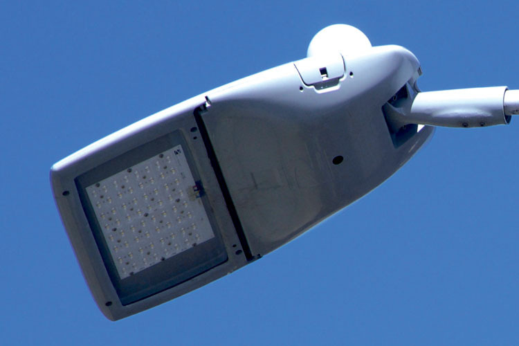 The new LED lamps for Wirral's streetlights