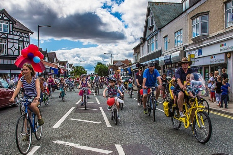 Bikes at Wirral festival of firsts