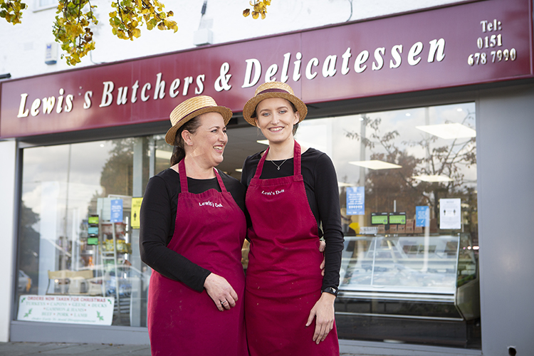 Lewis's Butchers in Greasby