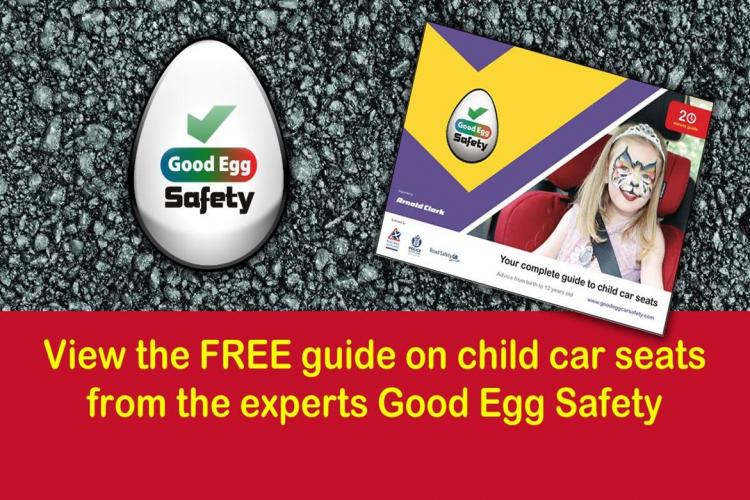 Free online guide to child car seat safety