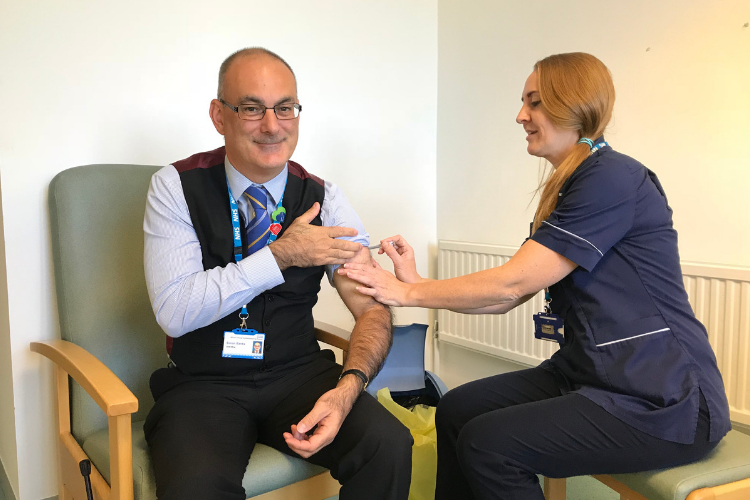 Get your flu vaccination, it's free because you need it