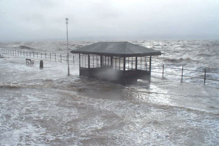 West Kirby flooding back in 2013