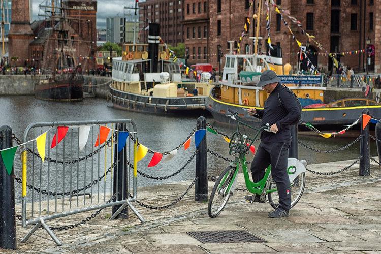 Cycle links in Merseyside
