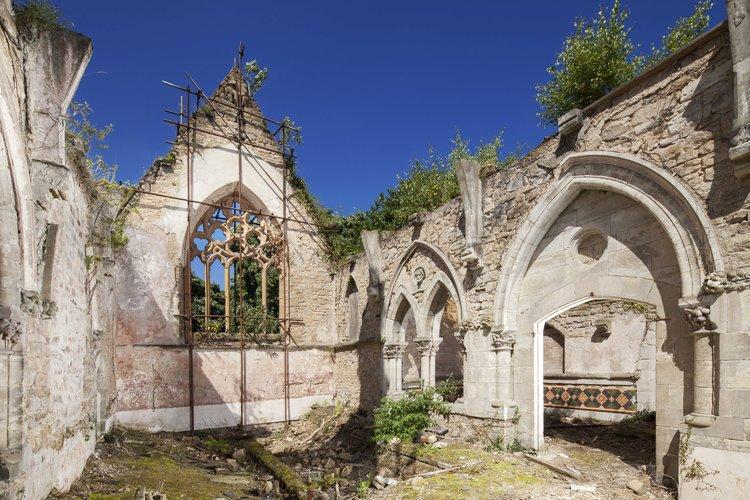 Flaybrick Victorian cemetery